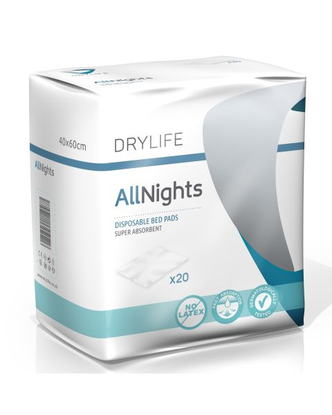 Drylife All Nights Bed Pads 40x60cm