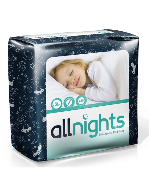 Drylife All Nights Childrens Bed Pads 60x60cm