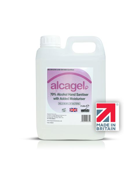 Vanguard Alcagel® 70% Alcohol Hand Sanitiser (2 Litre)