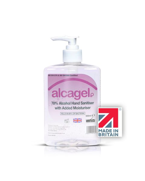 Alcagel 500ml Front