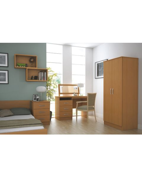 The Classic Bedroom Furniture Set in Oak