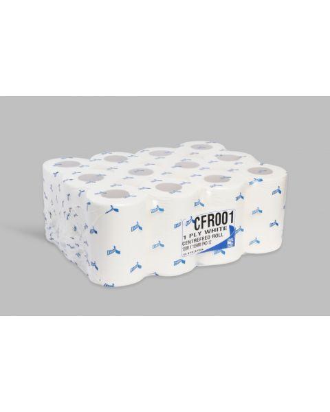 Esfina 1ply White Mini Centrefeed Roll