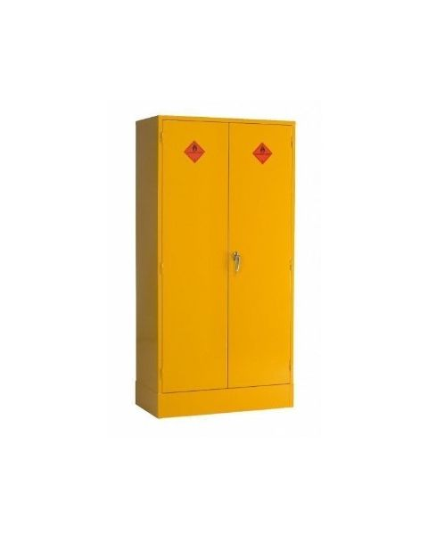 Hazardous and flammable storage cabinet