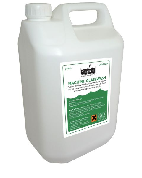 Machine Glass Wash - 5ltr