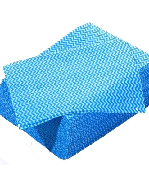 Lightweight Disposable Wipe Blue (100)