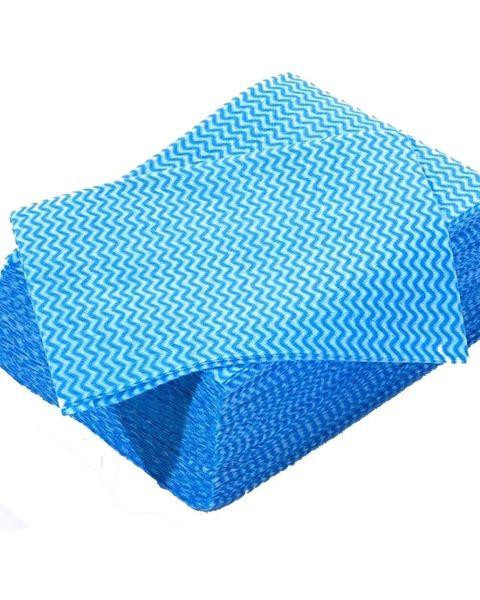 Lightweight Disposable Wipe Blue (100)
