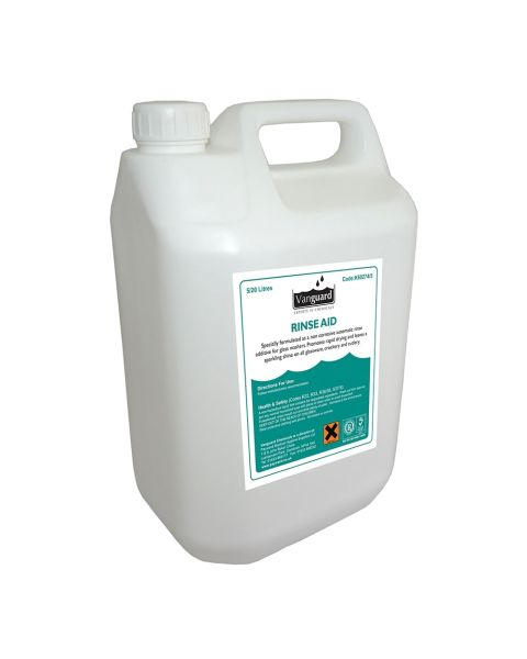 Vanguard Rinse Aid - Unperfumed - 20ltr