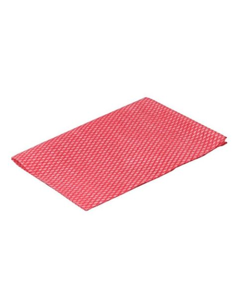 Lightweight Disposable Wipe Red (100)