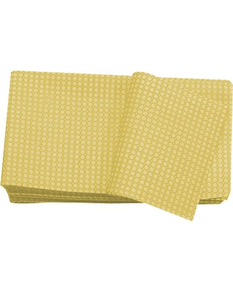 Lightweight Disposable Wipe Yellow (100)