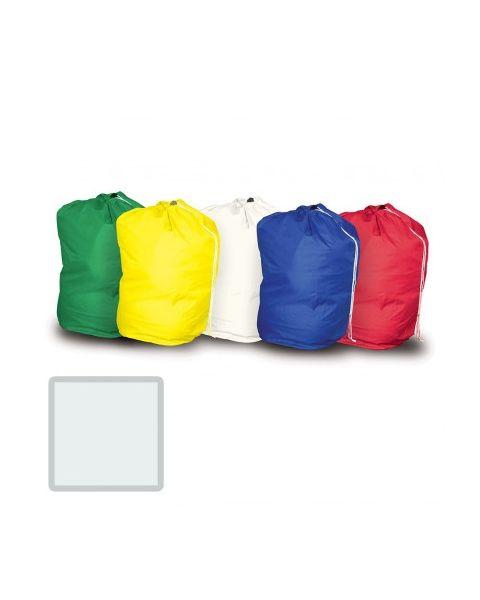 MIP Drawstring Laundry Bag - White