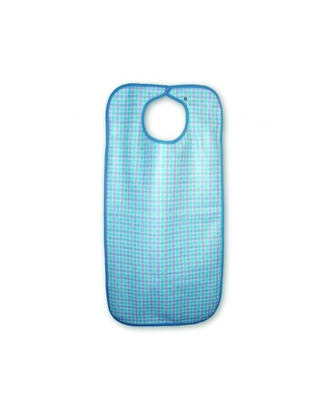 MIP Snap Closure Bib - Blue Stuart