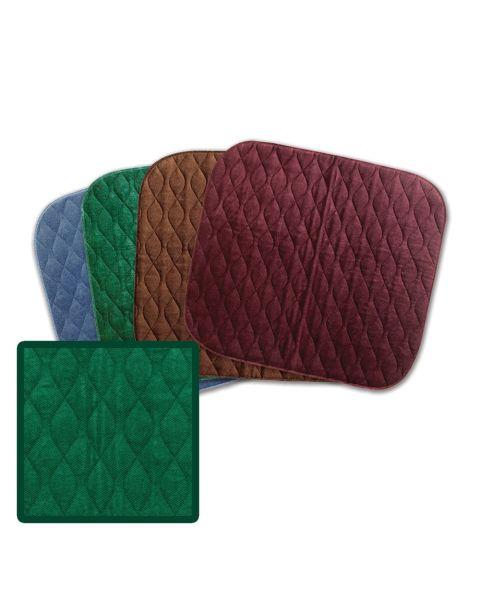 MIP Velour Chair Pad - Green