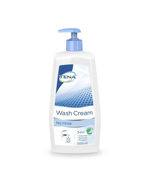 TENA Wash Cream (Pump) - 1 Litre