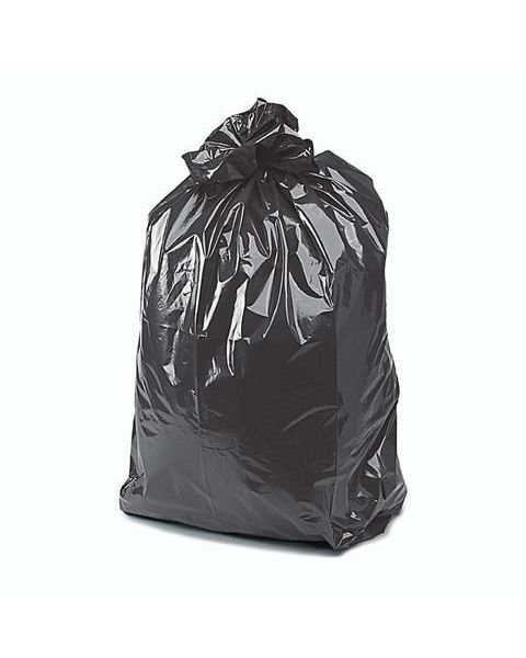 Premium Black Wheelie Bin Liners (100)