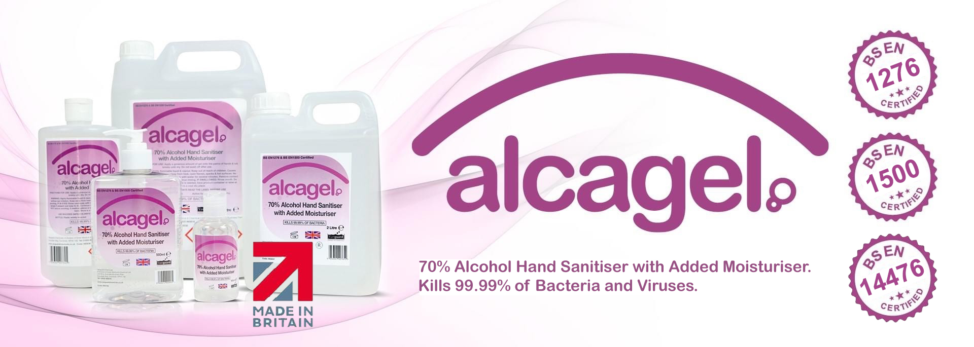 Alcagel - Alcohol Hand Sanitiser