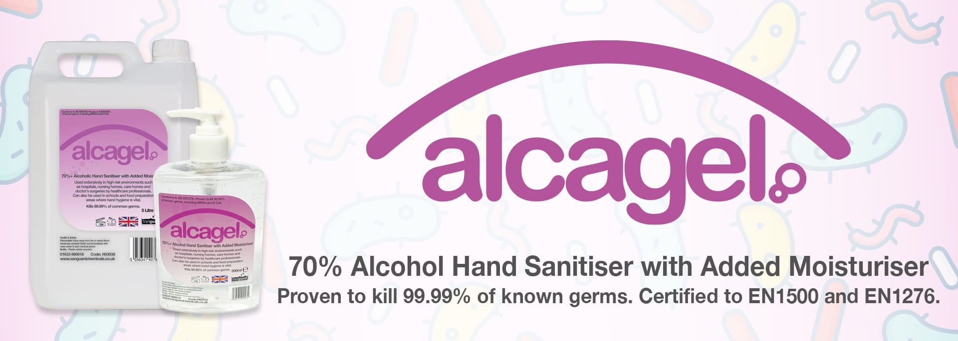 Alcagel - Alcohol Hand Sanitiser
